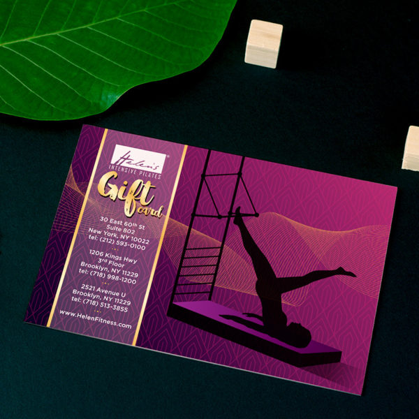 pilates gift card