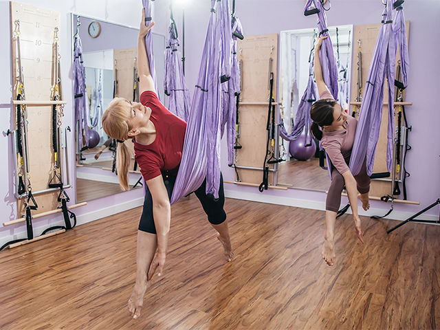 anti gravity aerial pilates